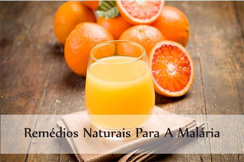 remédios naturais para a malária